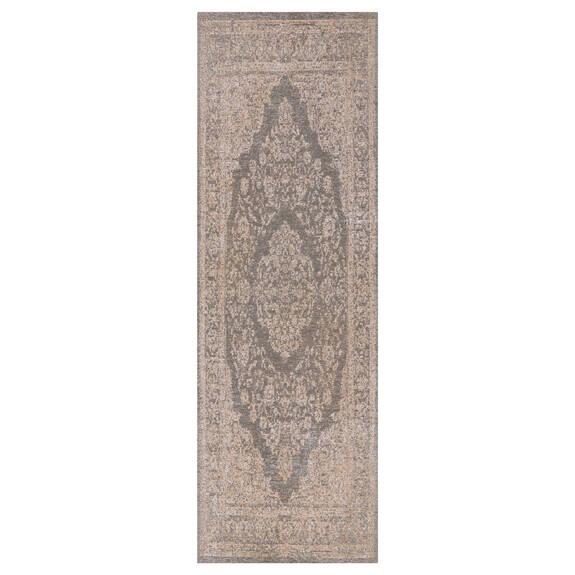 Tapis couloir Classic 30x84 ivoire/gris