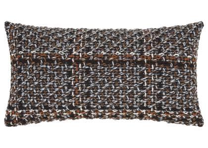 Coussin en tweed Bernadette 12x22