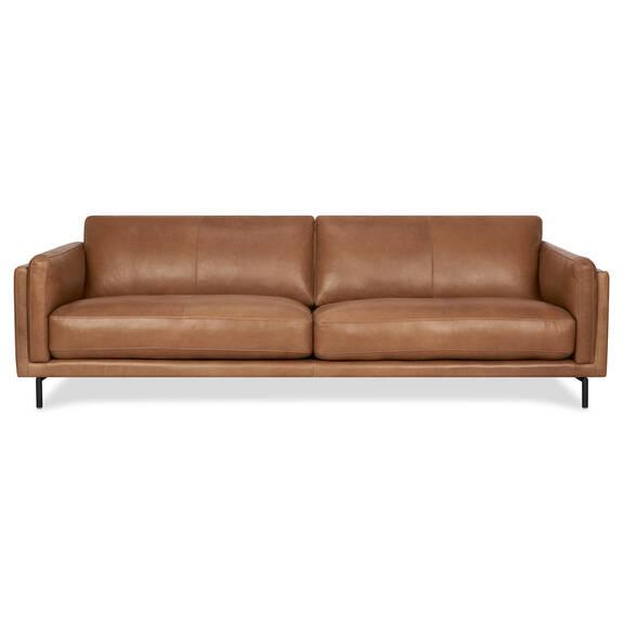 Canapé cuir Renfrew 94 po -Adler brun cl