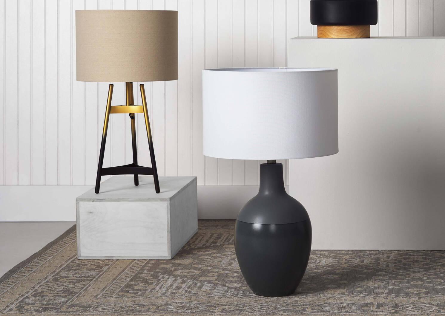 Lampe de table trépied Embry