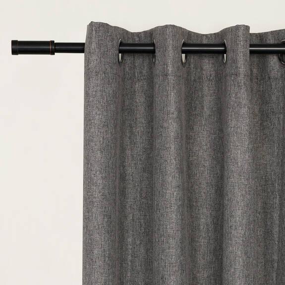 Rideau Bronn 96 gris pâle