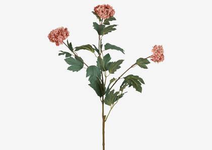 Branche boule de neige Roby sel rose