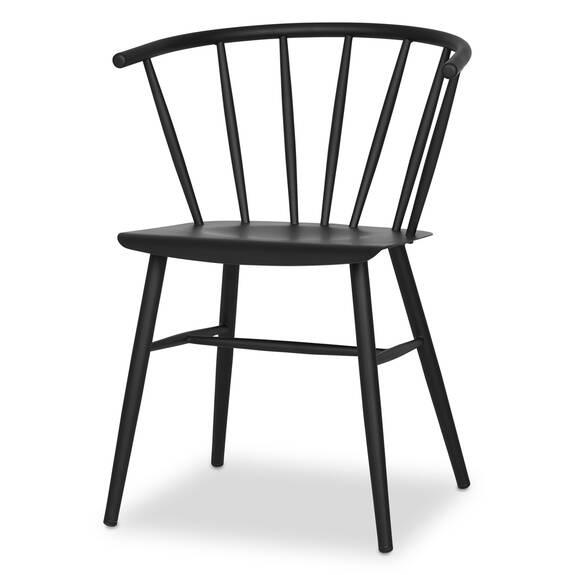 Chaise Brampton -noire