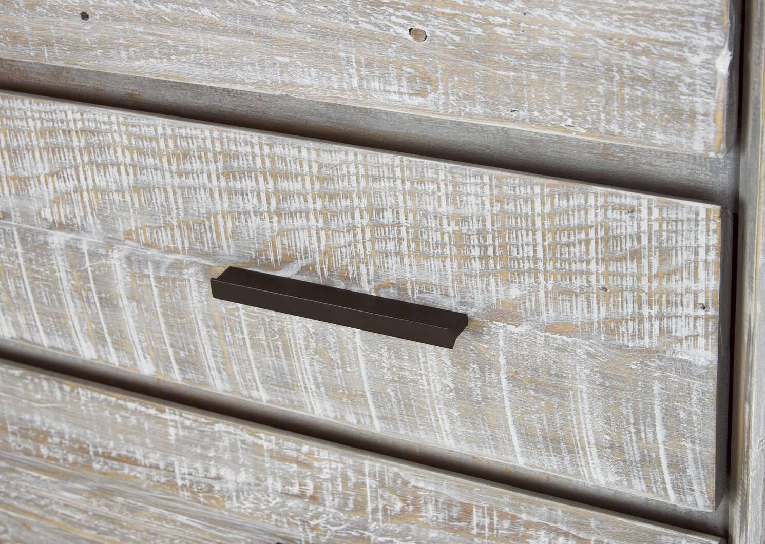 Commode 4 tiroirs Bayshore -Aliah brume