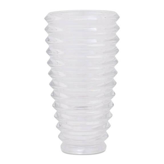Vase en verre Reese transparent