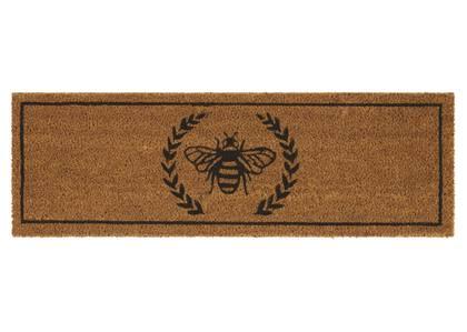 Paillasson de patio Bee naturel