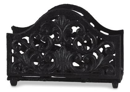 Porte-serviettes de table Olivia noir