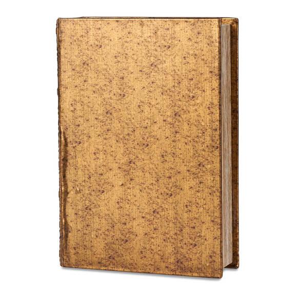 Grande boîte-livre Charmant bronze