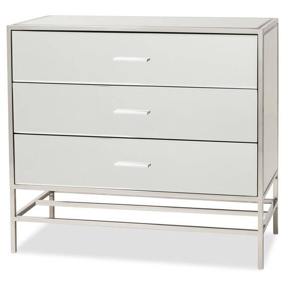 Commode 3 tiroirs Marilyn -miroir