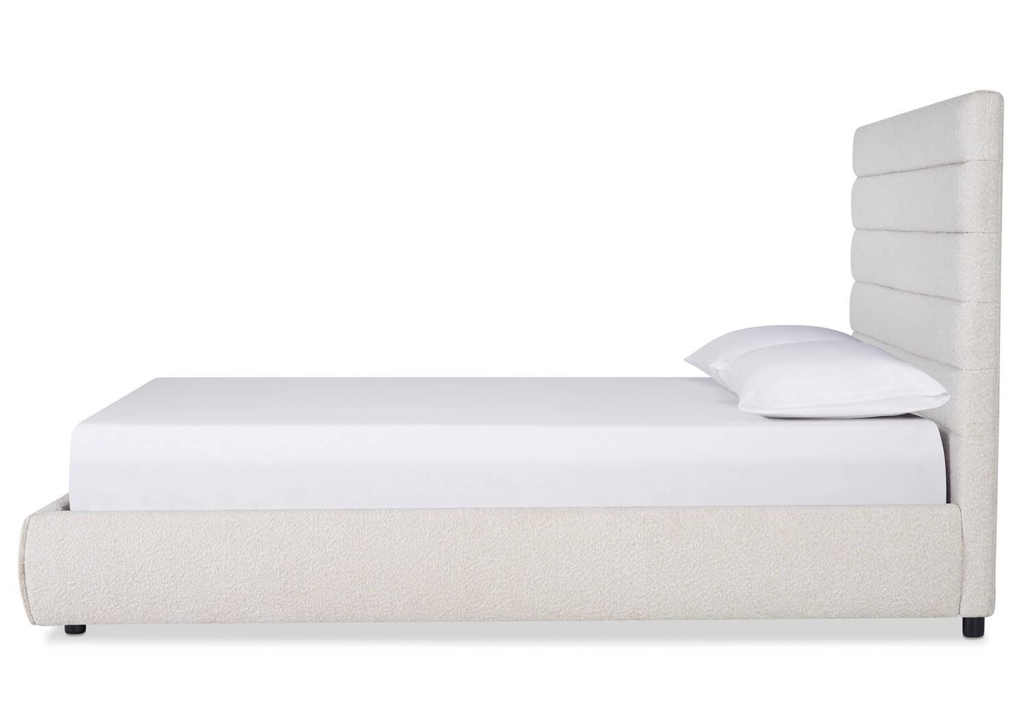 Impero Bed -Adele Ivory, KING