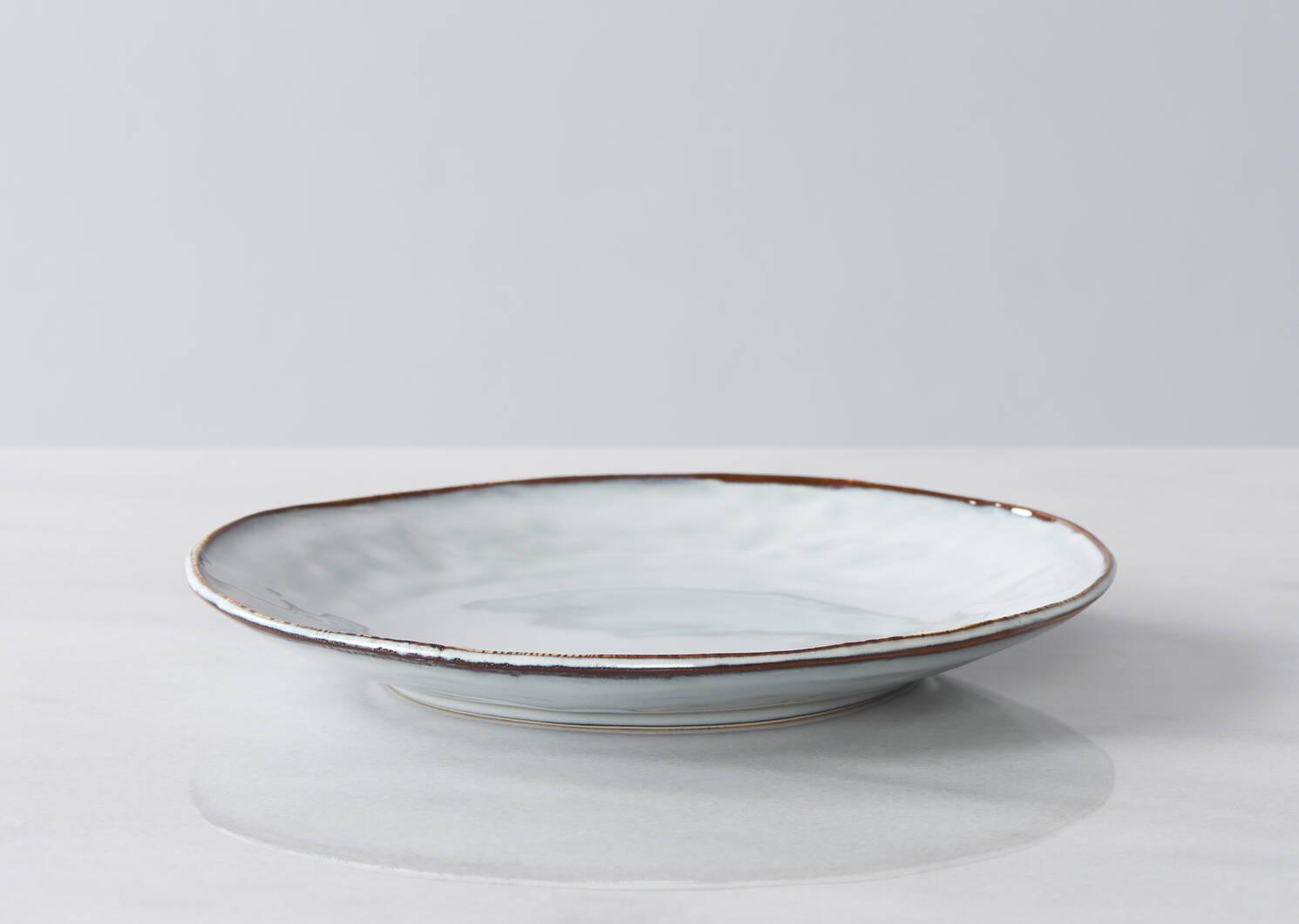 Service vaisselle Alesund 16 p bleu pâle