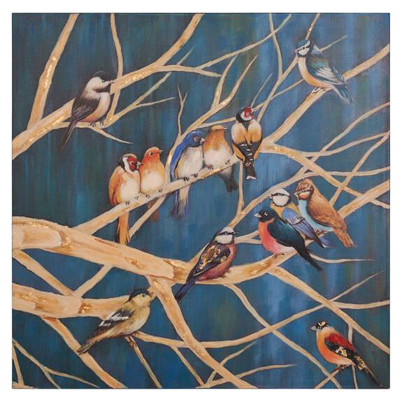 Toile Branch Party (dans les branches)