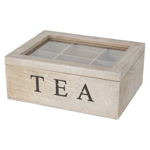 Boîte à thés vintage