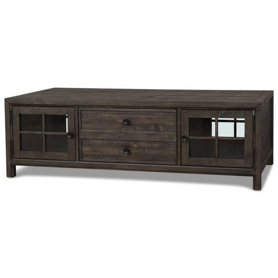 Table basse Churchill -caroube
