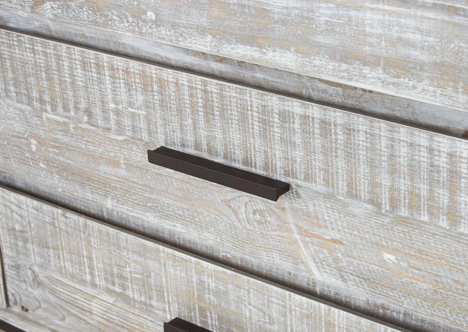 Bureau à 6 tiroirs Bayshore -Aliah brume