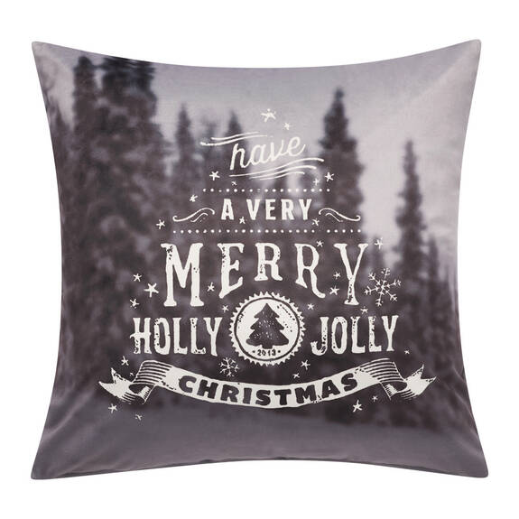 Coussin Holly Jolly 20x20