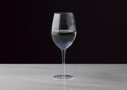 Verre à vin Joie bleu