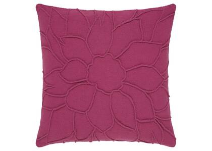 Coussin floral Meredith 20x20 magenta