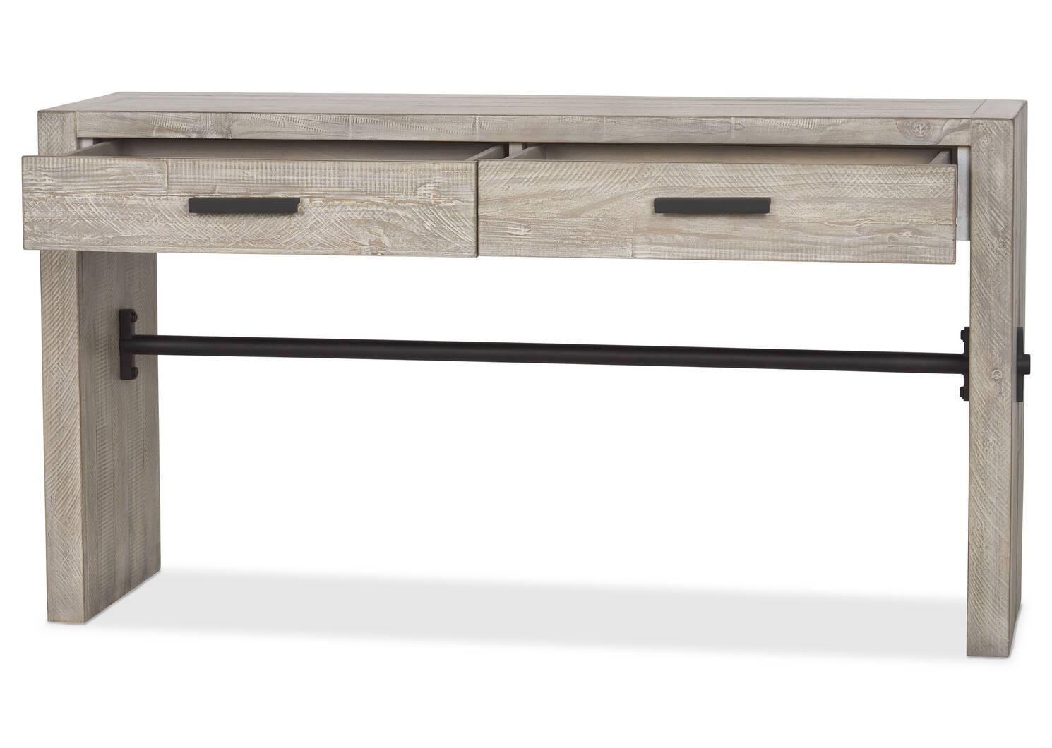 Table console Sienna -Ozark brouillard