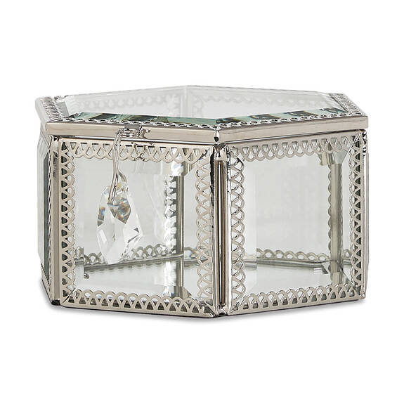 Boîte à bijoux hexagonale Markle