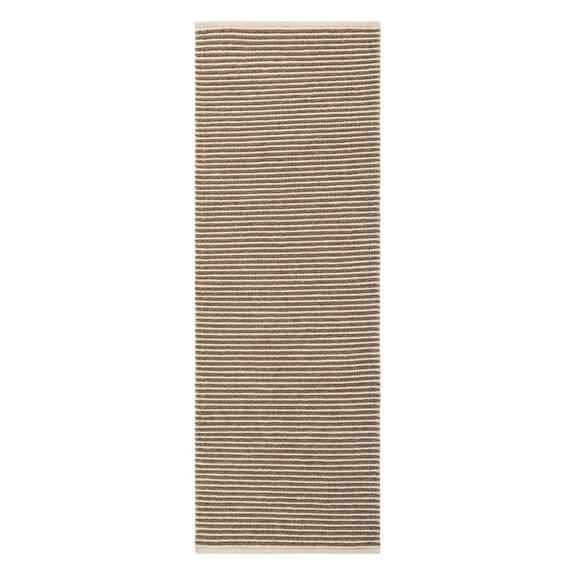 Tapis de couloir Pax 30x84 brun