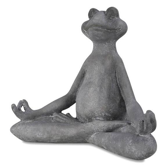 Gren. Asana yoga en pos. mudra grise