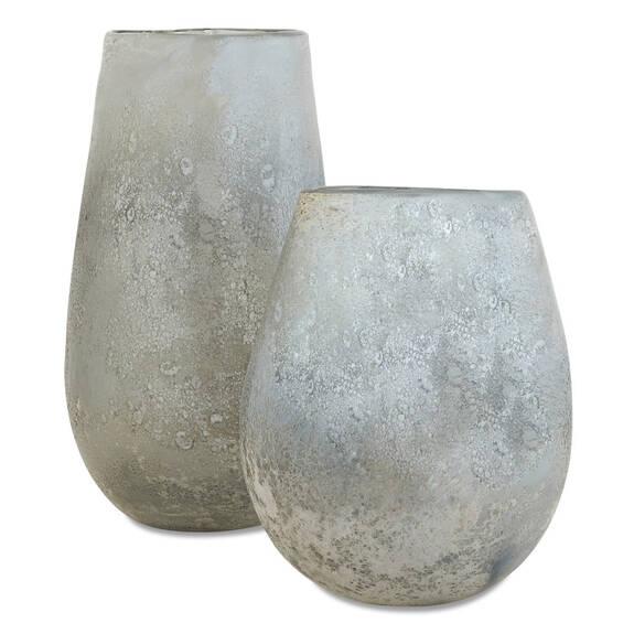 Peyton Vases - Silver