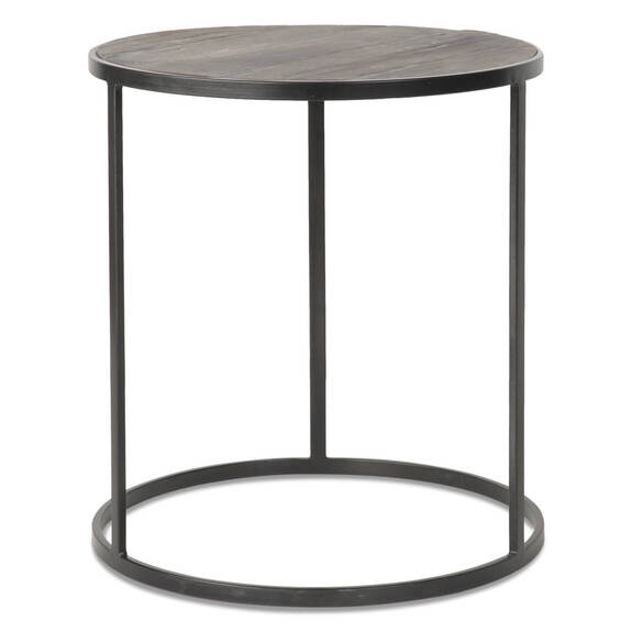 Table d'appoint Madera, ronde -Oak Bay