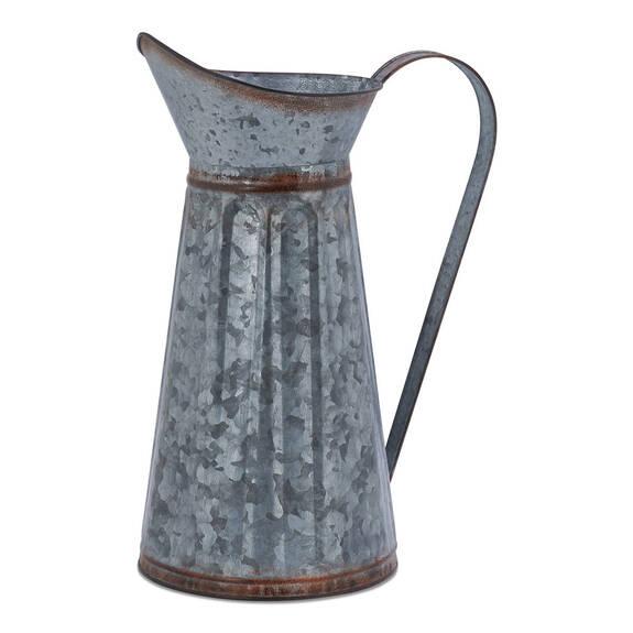 Vase cruche en métal Avery