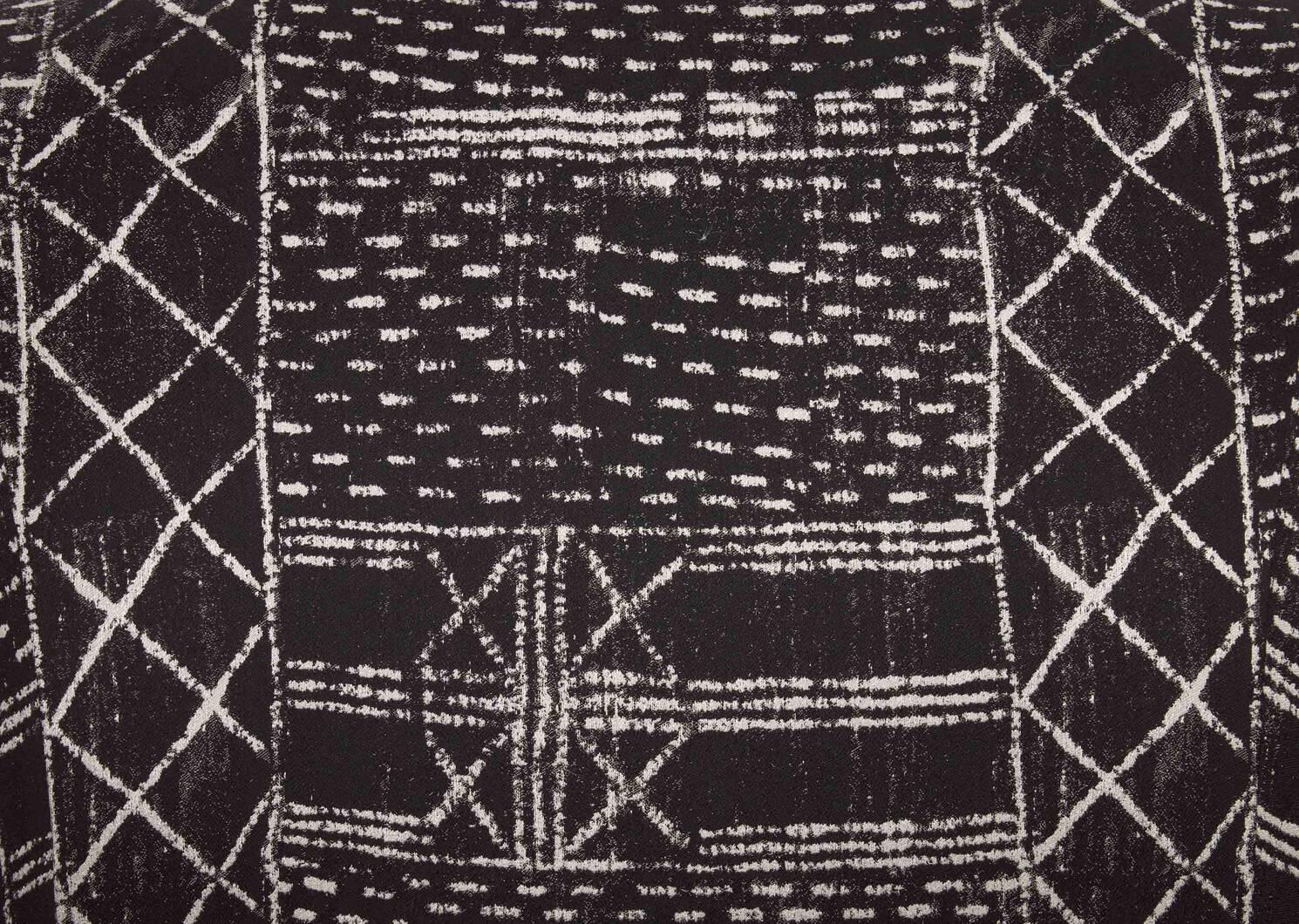 Fauteuil pivotant Caleb -Cavett noir