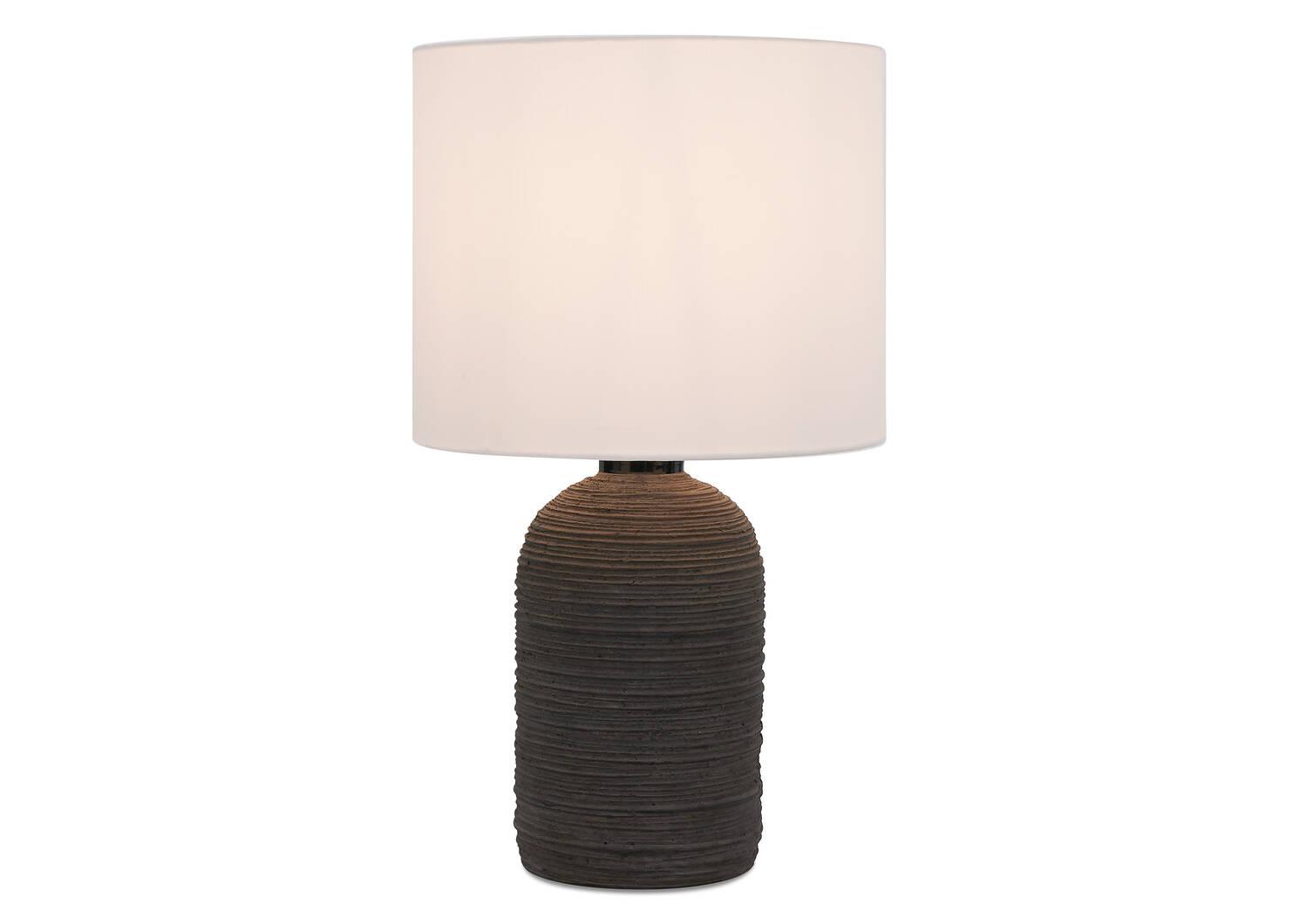 Lampe de table Amya noire
