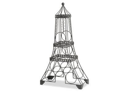 Support à vin Eiffel noir