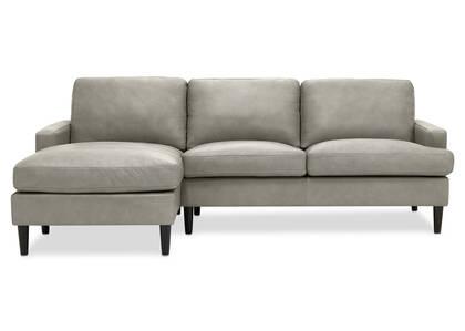Canapé d'angle en cuir Savoy personnalisé