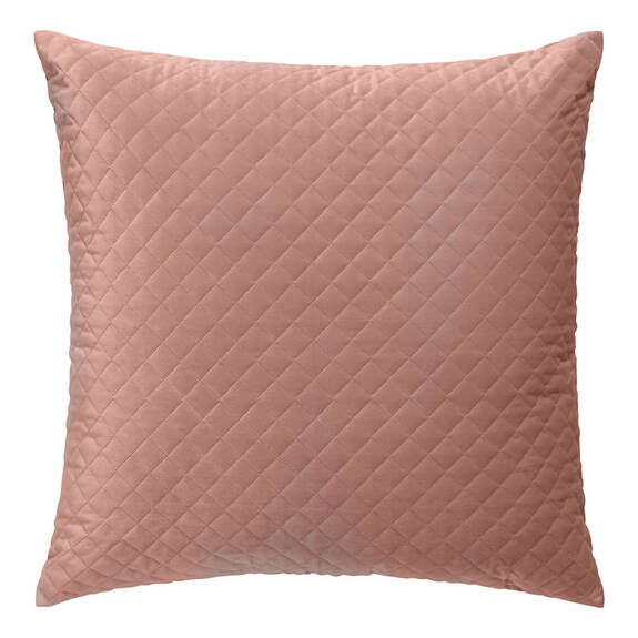 Coussin velours Cosmo 24x24 rose ballet
