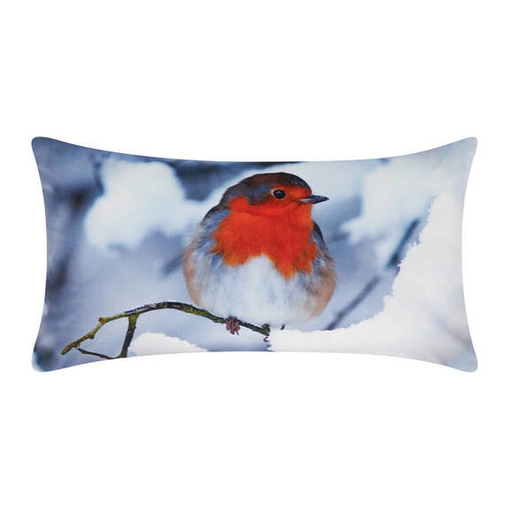 Coussin Red Robin 12x22