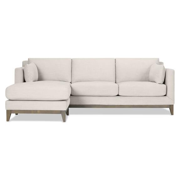 Canapé d'angle Ryerson -Aros colombe