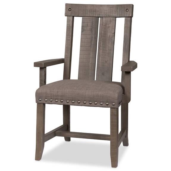 Chaise à acc. Ironside -gris rustique