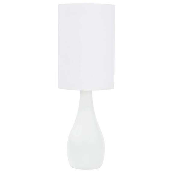 Lampe de table Naomie blanche